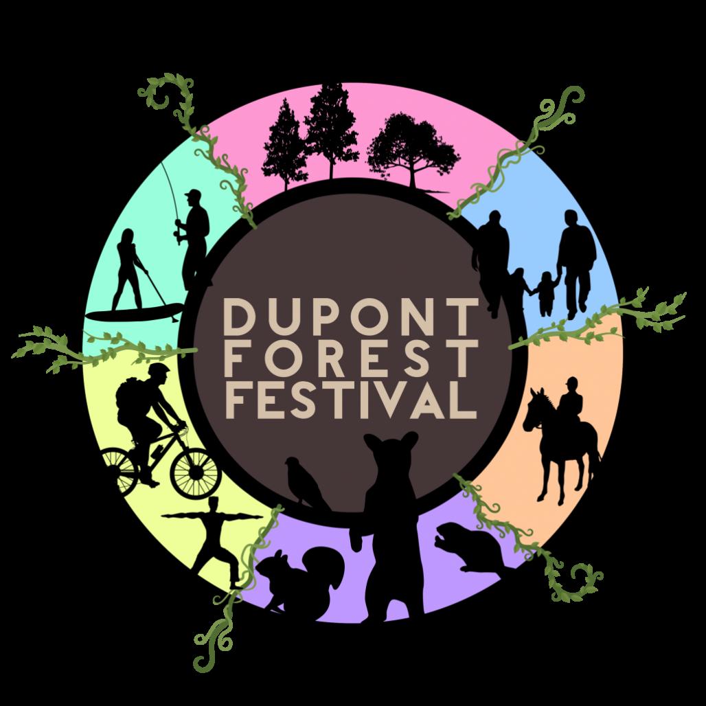 DuPont Forest Festival Logo