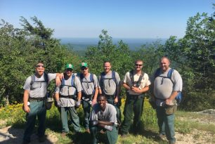 New article in the Wilkes Journal-Patriot highlights NCFS hemlock treatment