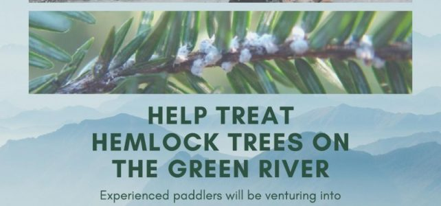 Sunday, July 28, 2019: PHHAT treatment day on the Green River